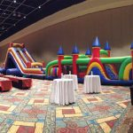 Gigantic obstacle course for rent