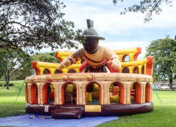 Gladiator Bounce House Rentals Miami