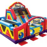 race inflatable obstacle course